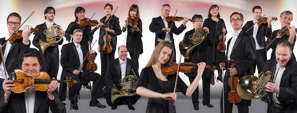 Streicher der Duisburger Philharmoniker