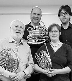 Hornquartett der Duisburger Philharmoniker