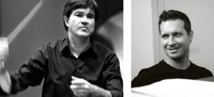Festkonzert der Universität Duisburg-Essen · Oliver Leo Schmidt, Leitung (Foto: Georg Schreiber) · Eduard Kiprsky, Klavier (Foto: Roxana Vlad)