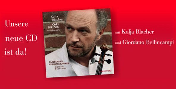 Neue CD mit Kolja Blacher