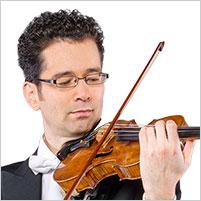 Tonio Schibel, 3. Konzertmeister, 1. Violine