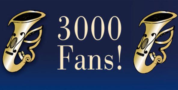 3000 Fans auf Facebook!