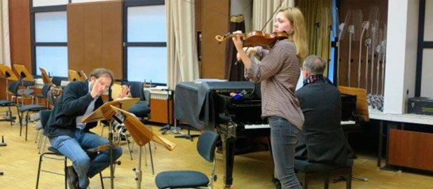 """Die """"Virtuosen von morgen"""" in Vorbereitung"""