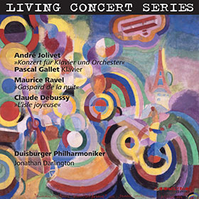 Jolivet · Ravel · Debussy · Pascal Gallet · Darlington