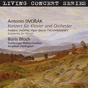 Dvořák · Chopin · Tschaikowsky · Boris Bloch · Jonathan Darlington
