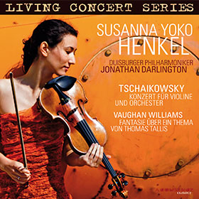 Peter Tschaikowsky · Ralph Vaughan Williams · Susanna Yoko Henkel · Jonathan Darlington