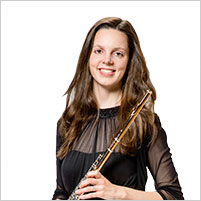 Franca Cornils, Flöte