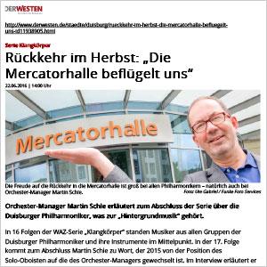 Duisburger Mercatorhalle besteht Entrauchungstest