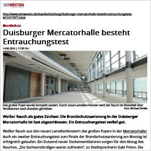 """Rückkehr im Herbst: """"Die Mercatorhalle beflügelt uns"""""""