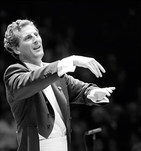 Giordano Bellincampi Dirigent Foto: Andreas Köhring