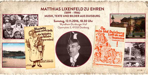 Matthias Lixenfeld zu Ehren