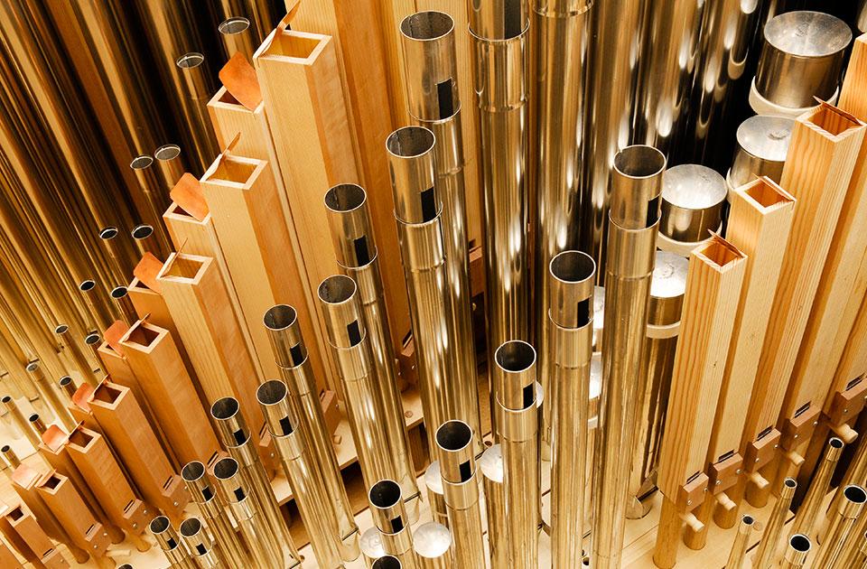 Die Eule-Orgel in der Philharmonie Mercatorhalle