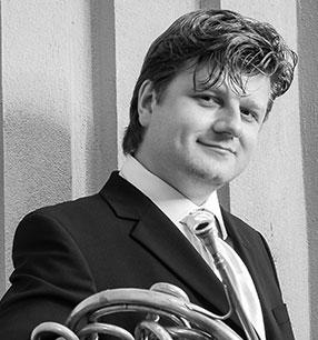 5. Philharmonisches Konzert 2017/18 · Radek Baborák Horn · Foto: Ondrej Pycha