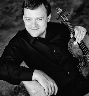 11. Philharmonisches Konzert 2017/18 · Frank Peter Zimmermann Violine · Foto: Harald Hoffmann Hänssler Classical
