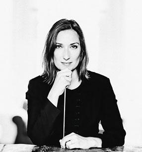 12. Philharmonisches Konzert 2017/18 · Ariane Matiakh Dirigentin · Foto: Marco Borggreve