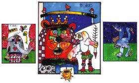 <span class='langTitel'>Karneval der Tiere oder: Die Hochzeit des Löwen</span><span class='kurzTitel'>Karneval der Tiere</span>