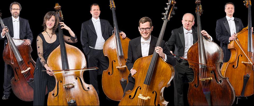 Duisburger Philharmoniker: Die Kontrabässe