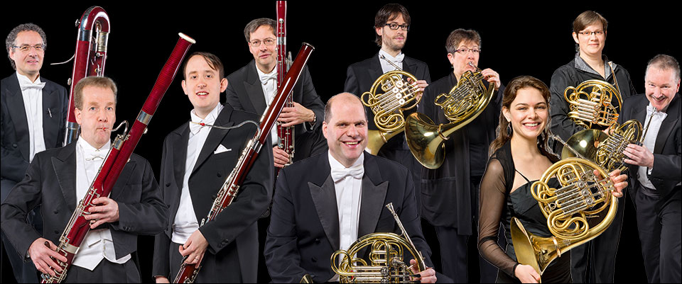 Duisburger Philharmoniker: Die Fagotte und Hörner