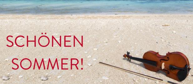 Allen einen schönen Sommer!