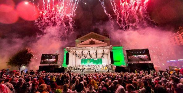 3000 Musikfreunde trotzten dem Regen!