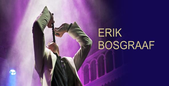 Live-Interview mit Erik Bosgraaf auf WDR 3