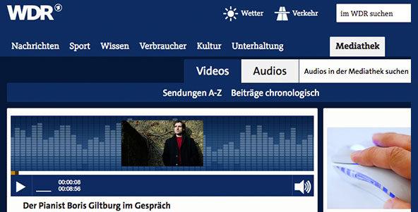 Der Pianist Boris Giltburg im Gespräch