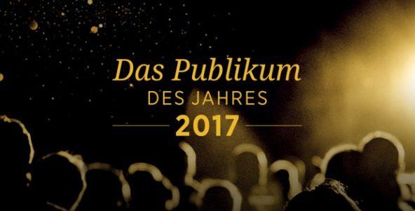 """""""Publikum des Jahres 2017"""""""