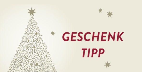 Geschenk-Tipp: Konzertkarten / CDs