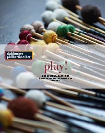 play! Das Jahresprogramm der Duisburger Philharmoniker 2018/2019