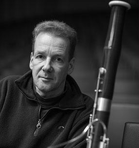 4. Philharmonisches Konzert 2018/19 · Jens-Hinrich Thomsen Fagott · Foto: Mischa Blank