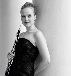 4. Philharmonisches Konzert 2018/19 · Viola Wilmsen Oboe · Foto: Anna Klemm