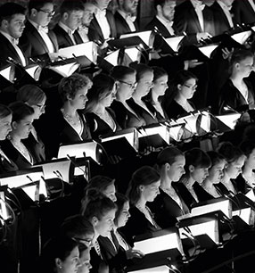 7. Philharmonisches Konzert 2018/19 · Audi Jugendchorakademie · Foto: Zapf