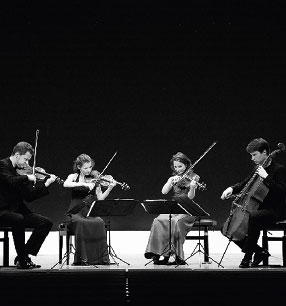 11. Philharmonisches Konzert 2018/19 · Armida Quartett · Foto: Felix Broede
