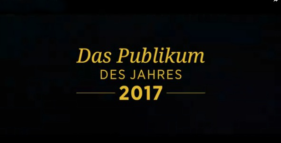 """Video zur Preisverleihung """"Publikum des Jahres 2017"""""""