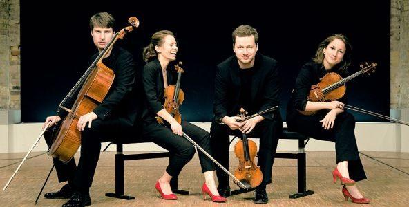 Herzlich willkommen, Armida Quartett!