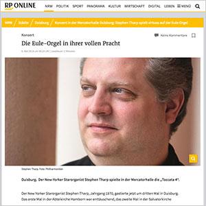 Die Eule-Orgel in ihrer vollen Pracht · RP Online vom 06.05.2019