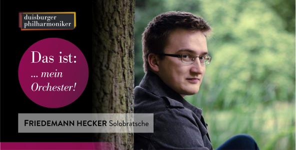 Das ist: … mein Orchester! Friedemann Hecker