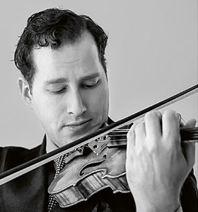 1. Philharmonisches Konzert Nikolaj Szeps-Znaider Violine Foto: Lars Gundersen