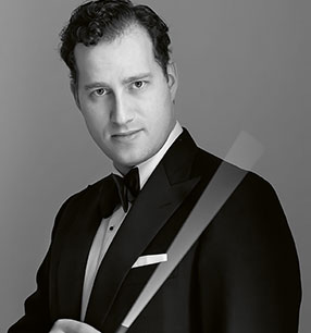 5. Philharmonisches Konzert Nikolaj Szeps-Znaider Dirigent Foto: Lars Gundersen