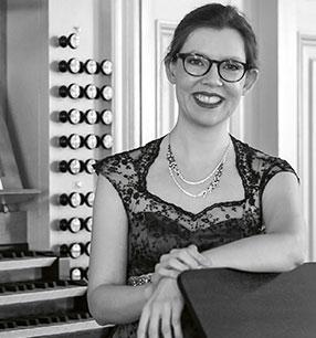 9. Philharmonisches Konzert Anna-Victoria Baltrusch Orgel Foto: Sabine Schünemann