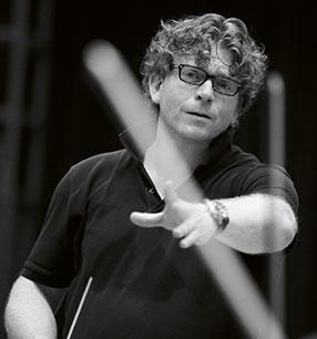 10. Philharmonisches Konzert Marcus Bosch Dirigent Foto: Thomas Niedermüller