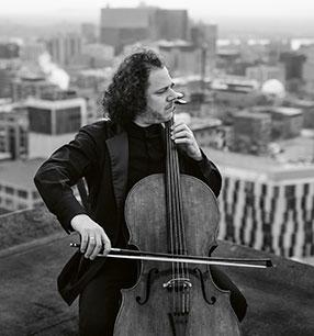 11. Philharmonisches Konzert Matt Haimovitz Violoncello Foto: Brent Calis