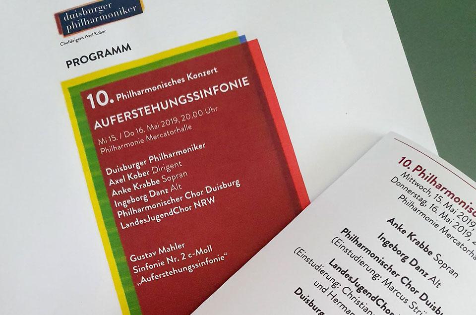 Programm Mahler