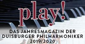play! - Das Jahresmagazin für die neue Spielzeit 2019/2020 ist da!