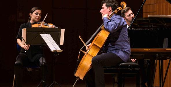 Eröffnung der Kammermusik-Saison mit dem Trio Imàge