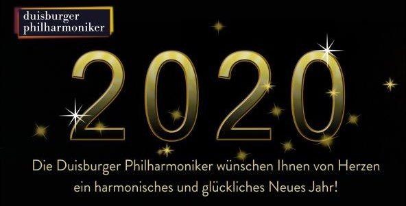 Ein glückliches und gesundes Neues Jahr 2020!
