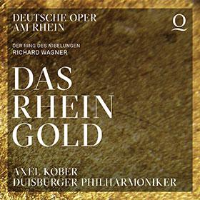 CD-Cover: Das Rheingold · Duisburger Philharmoniker unter Axel Kober