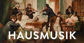 Musikerinnen und Musiker der Duisburger Philharmoniker spielen für Sie