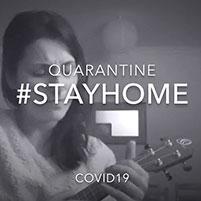 "Alba Luna Sanz Juanes: ""QUARANTINE #STAYHOME COVID19"""