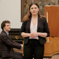 Mikhail Zhuravlev und Irina Makarova